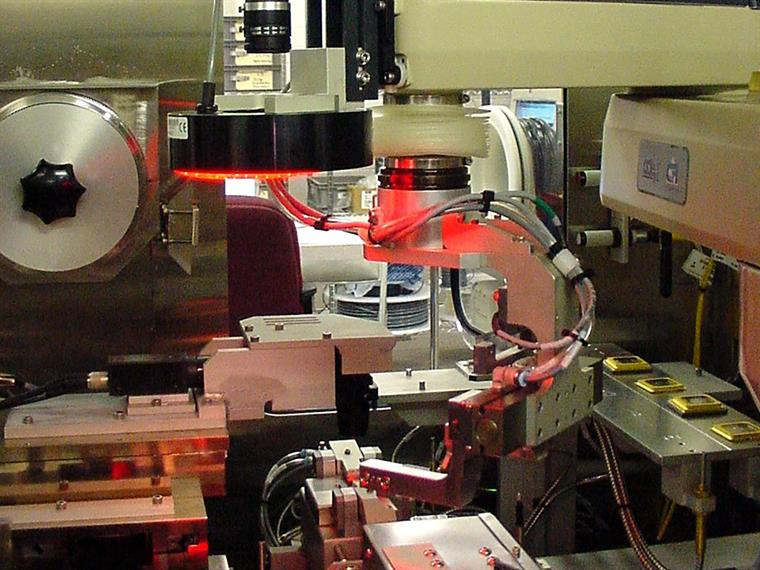 Align Hermetically Seal Test Optical Processor
