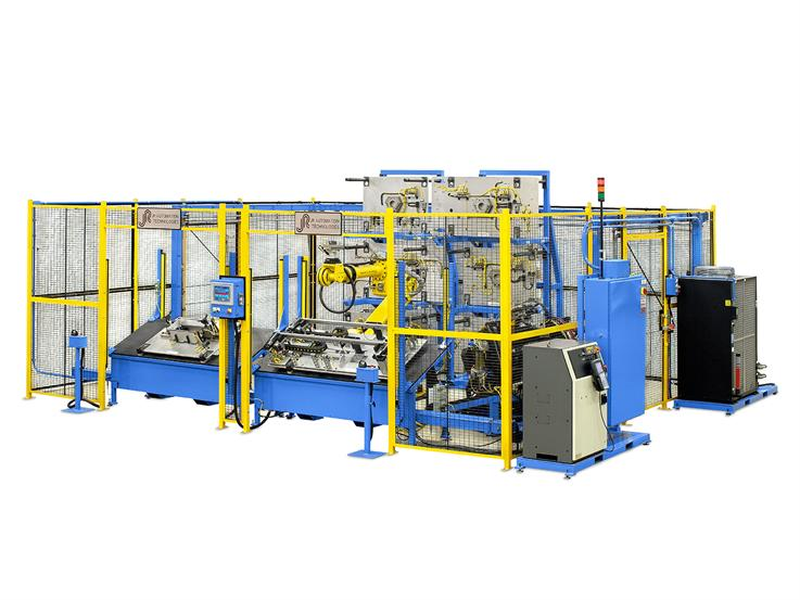 JR Automation's Flexible Welding Cell