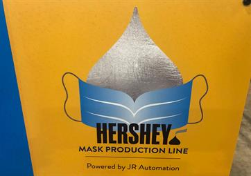 Hershey Mask Production Line - Powered by JR Automation