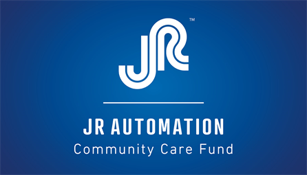 jr automation community care fund logo